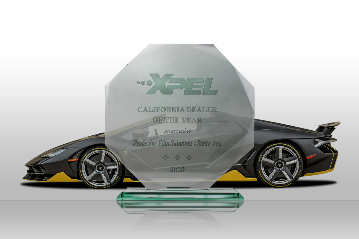 PFS XPEL Dealer of the Year 2020
